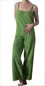 Fleece lang grün