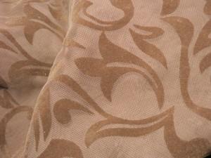 Chiffon braun Muster