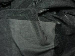 Voile Lycra schwarz